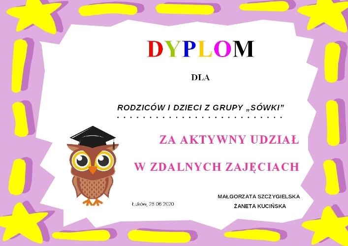 DYPLOM SÓWKI - 26.06.2020 - zdjęcie-1